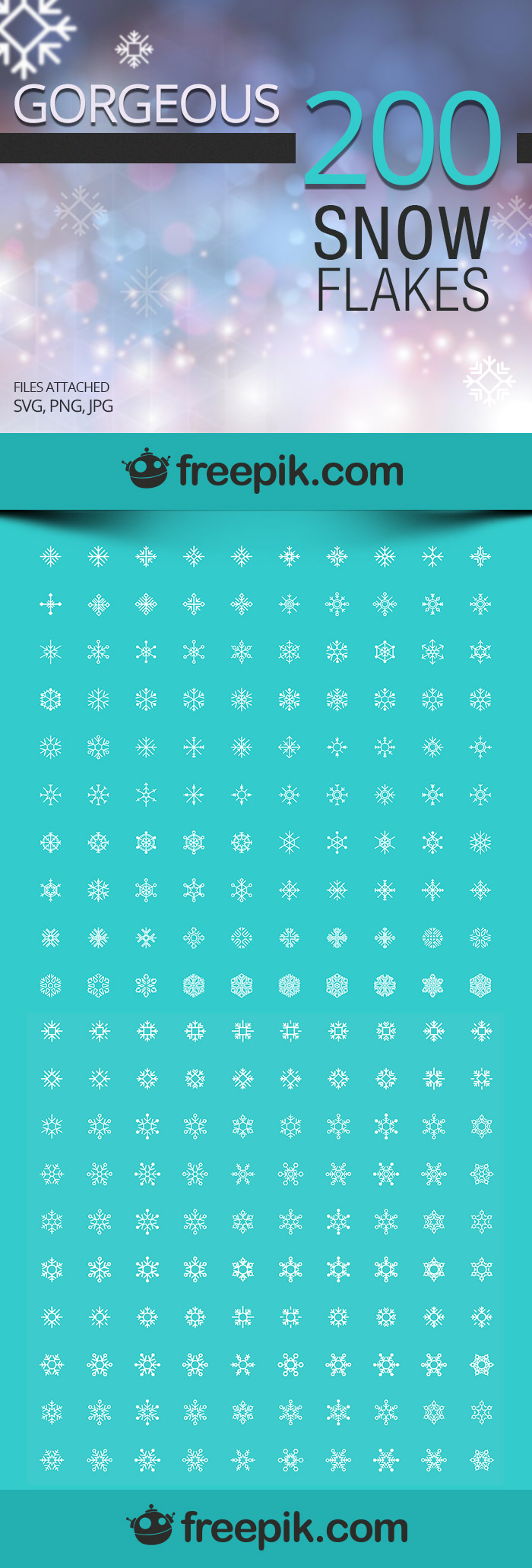 Free Snowflakes Icons for Your Projects | Downgraf.com