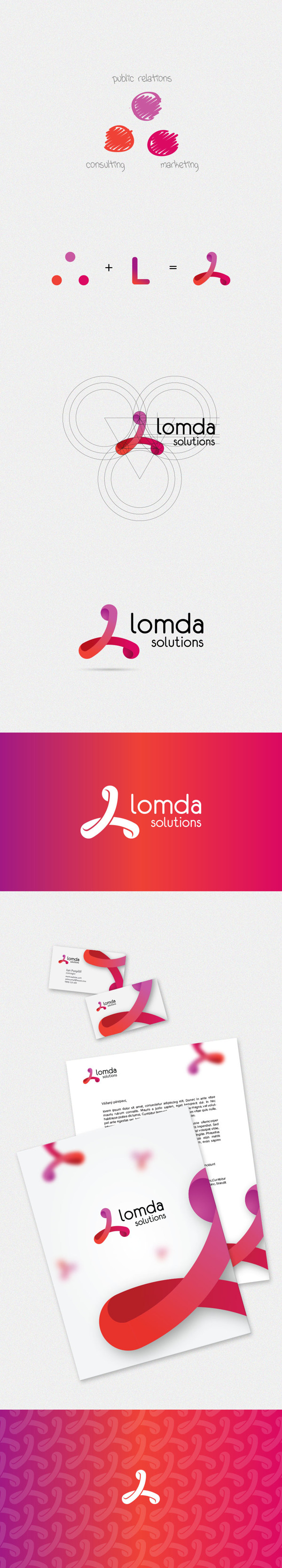 lomda Logo Design
