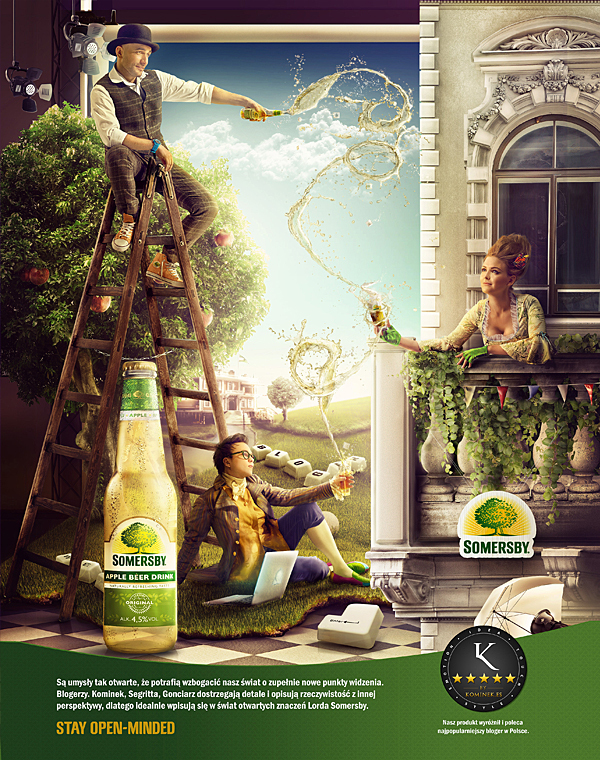 Somersby stay open-minded