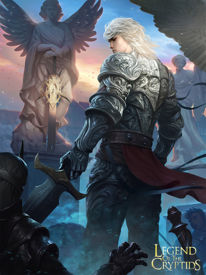 Swordman of Eternity – Legend of The Cryptids by LASAHIDO