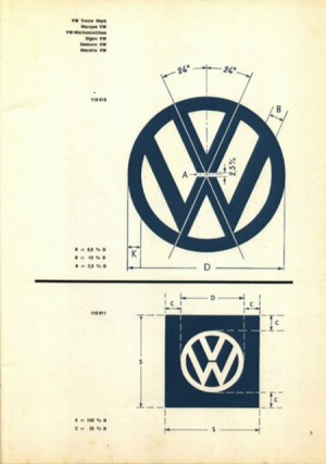 Volkswagen Logo Specifications