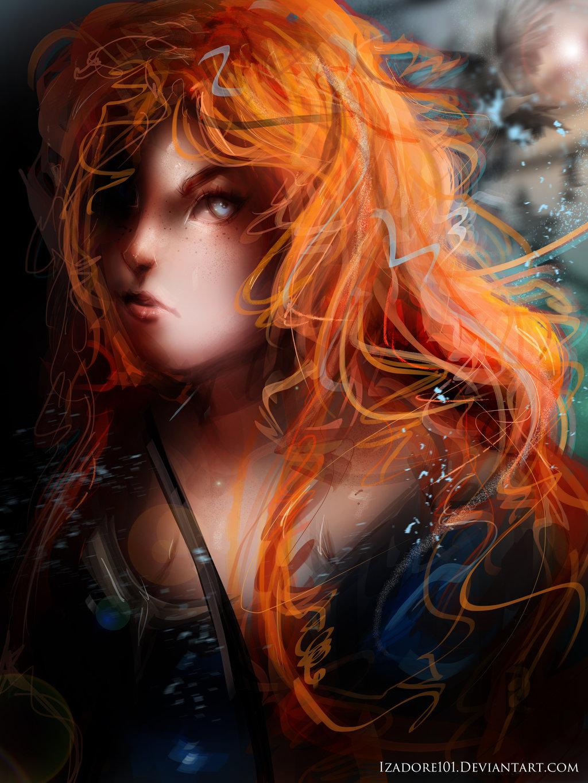 Brave Merida by Izadore101