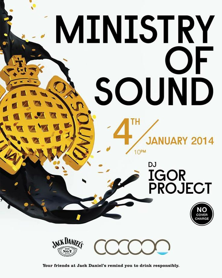 Cocoon Beach Club, Bali welcomes in the first days of 2014 with MINISTRY OF SOUND Feat: Igor Project