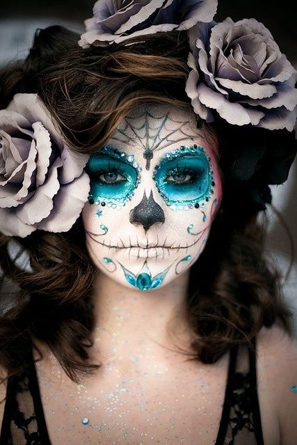 Day of the Dead Makeup by micheal