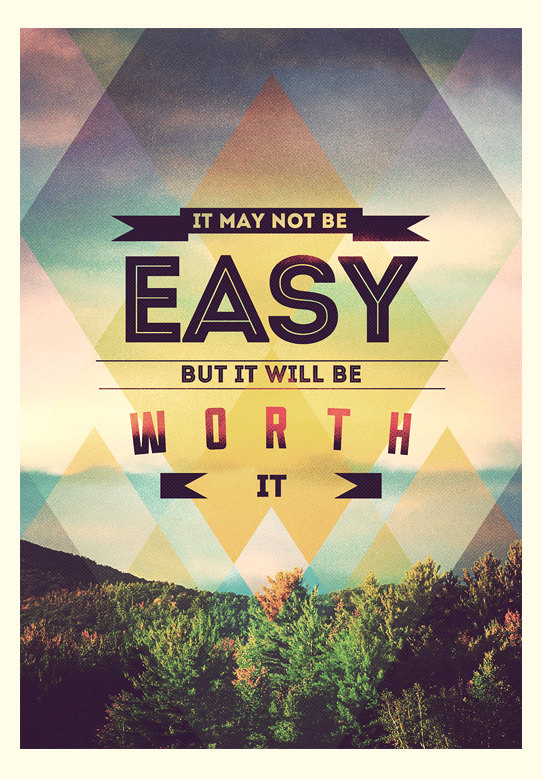 Worth – Limited Edition Quote Art Print