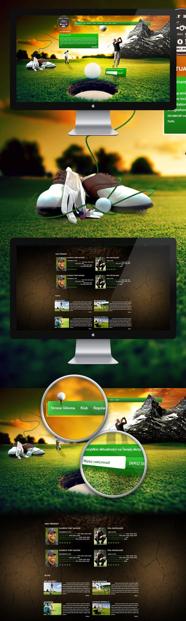 Design for Golf Klub