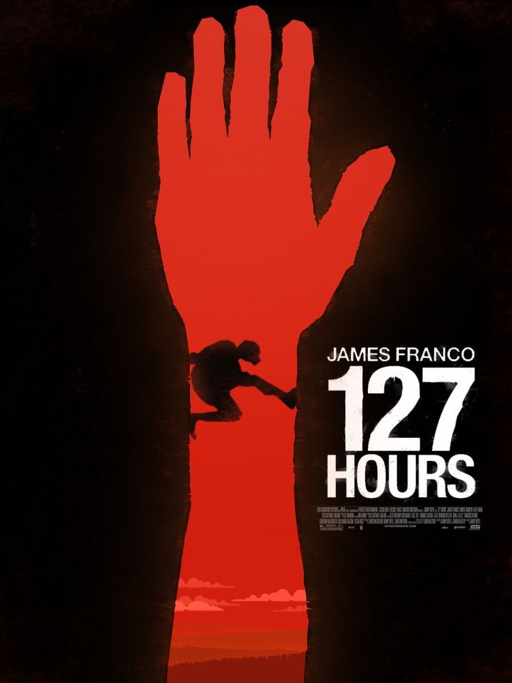 127 hours Alternative Movie Poster by Szymon Fischer