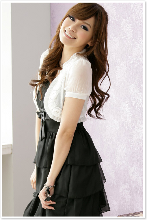 KoreanGirls lace Dresses Fashion
