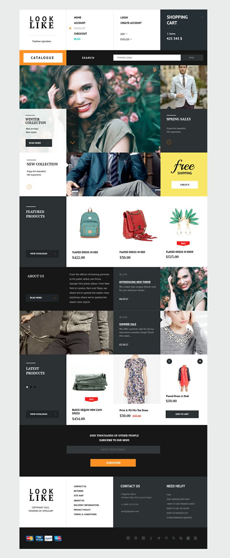 Looklike web design