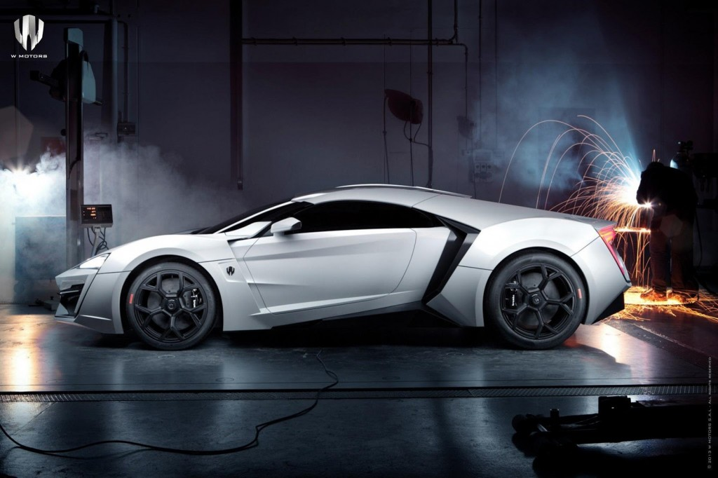 Lykan Hypersport is the Arab World's First Supercar