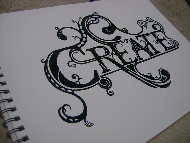 Create – Hand lettering by IgorCheb