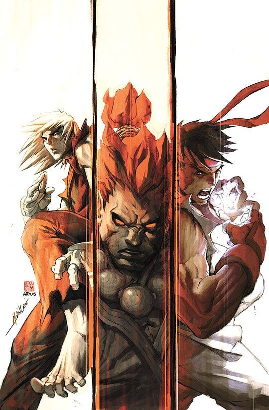 Street Fighter by Alvin Lee