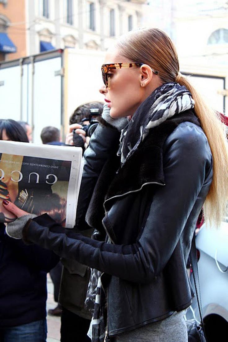 Milan Fashion Week- Outside Gucci…