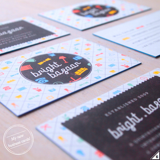 Bright Bazaar's business cards