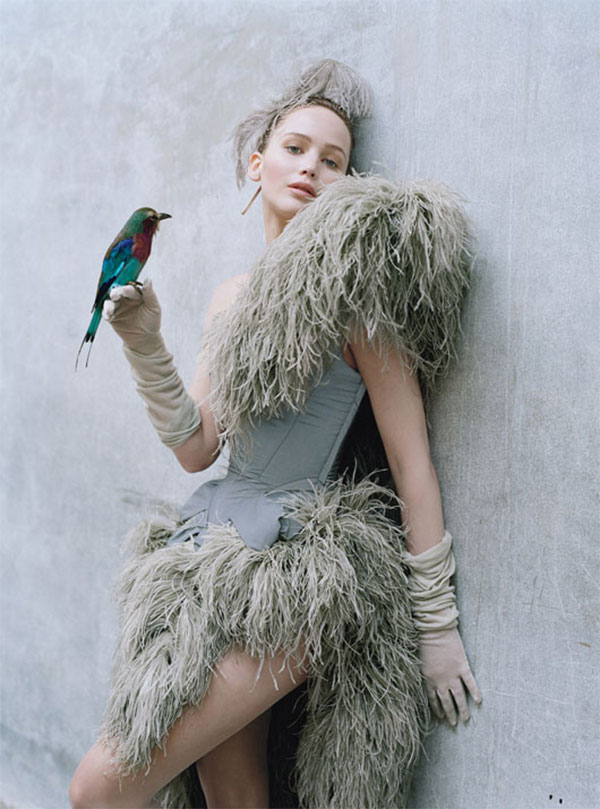 fashion editorial : jennifer lawrence by tim walker