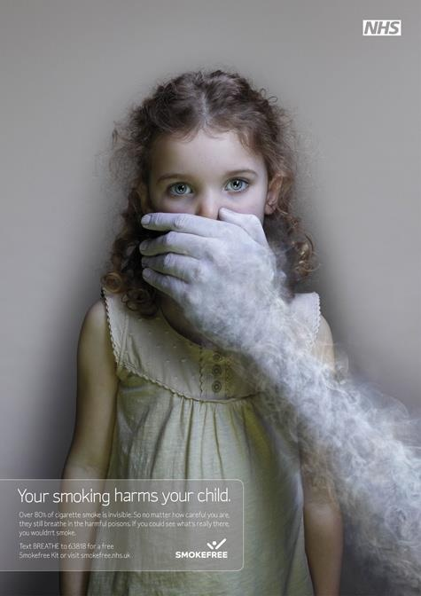 Your smoking harms your child – SMOKEFREE