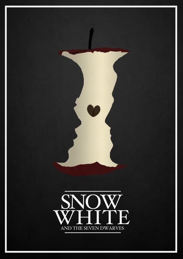 10 Alternate & Minimalistic Disney Movie Posters