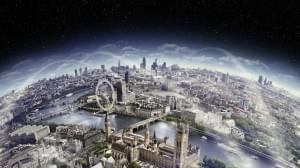 Big Ben England London Eye River Thames wallpaper