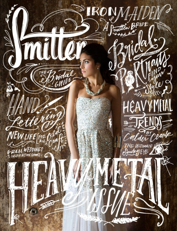 Smitten Magazine's 9th Issue | Heavy Metal Edition