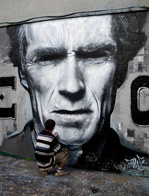 Clint Eastwood by Flow TWE CREW