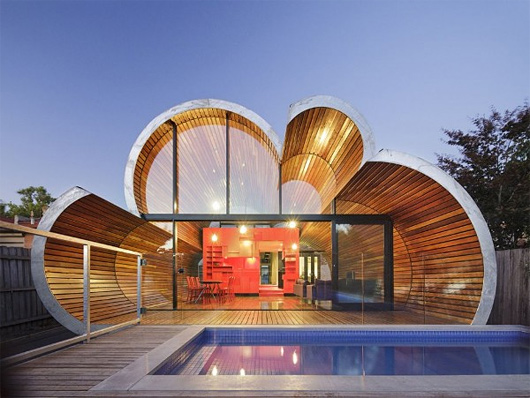 Cloud House by McBride Charles Ryan Architects | Inspiration Grid | Design Inspiration