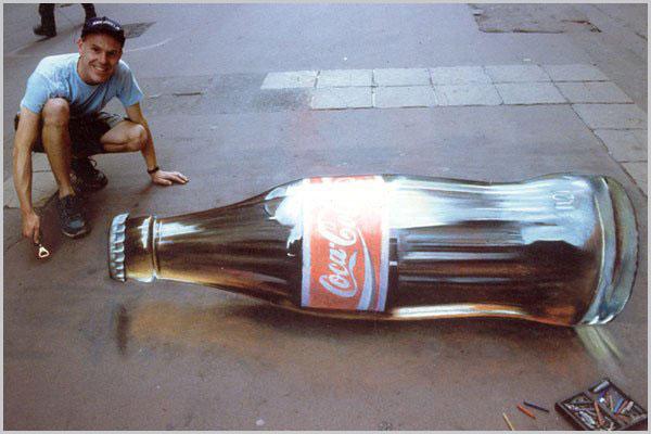 Coke Bottle illusion