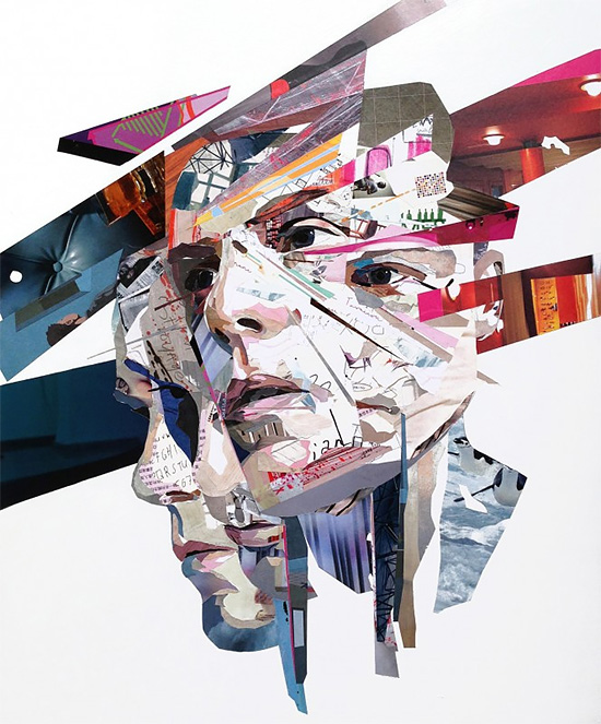 Collage Artworks by Patrick Bremer