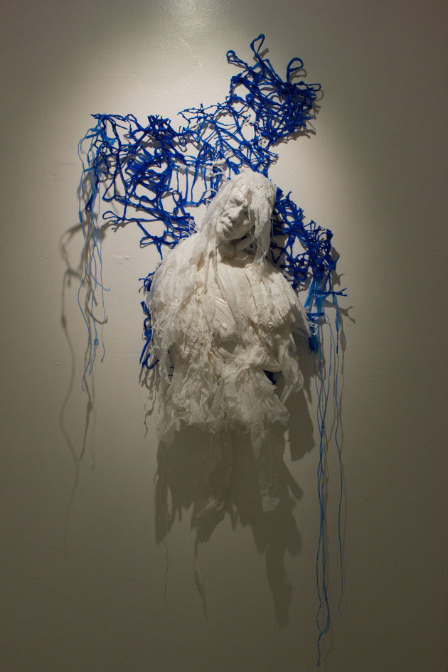 Seeing the Extraordinary In the Ordinary: Khalil Chishtee's plastic bag sculptures
