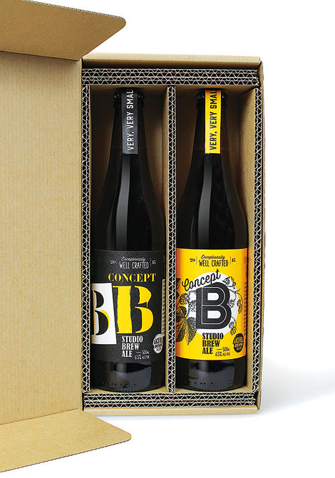 Concept B Beer Packaging