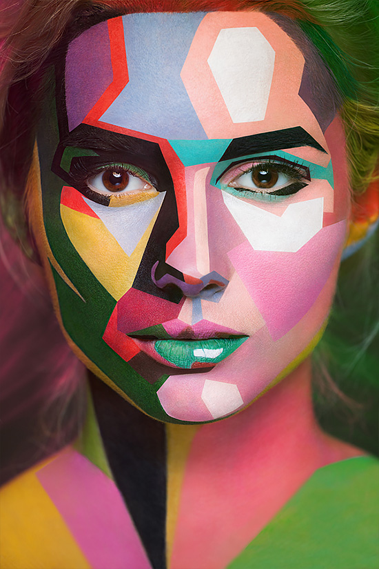2D or not 2D: Amazing Face Paintings