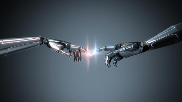 Digital Creation Hands