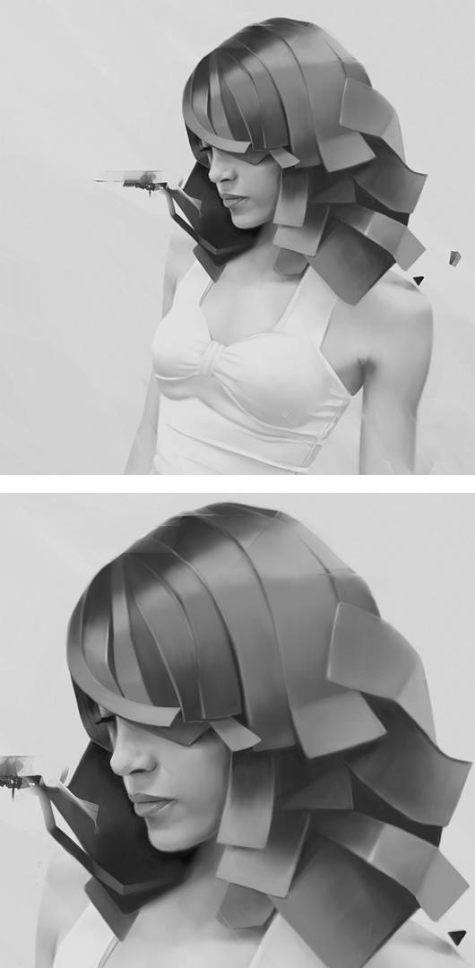Digital Portraits by Denis Gonchar   Inspiration Grid   Design Inspiration