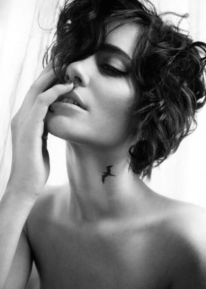 Elegant Neck Tattoo