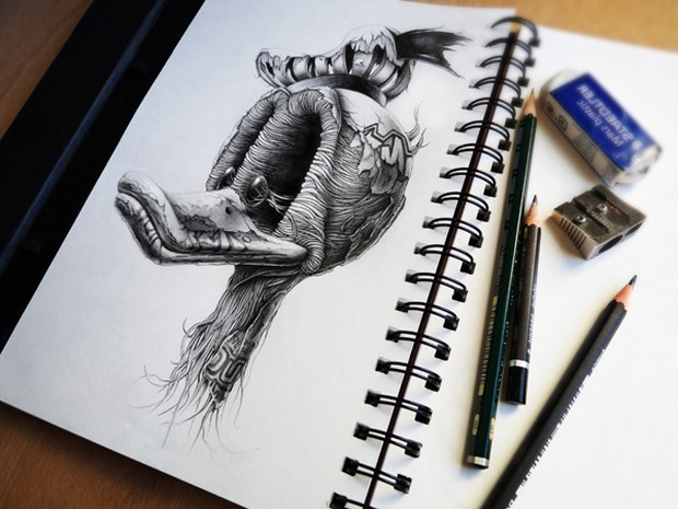 Fantastic Pencil Sketch