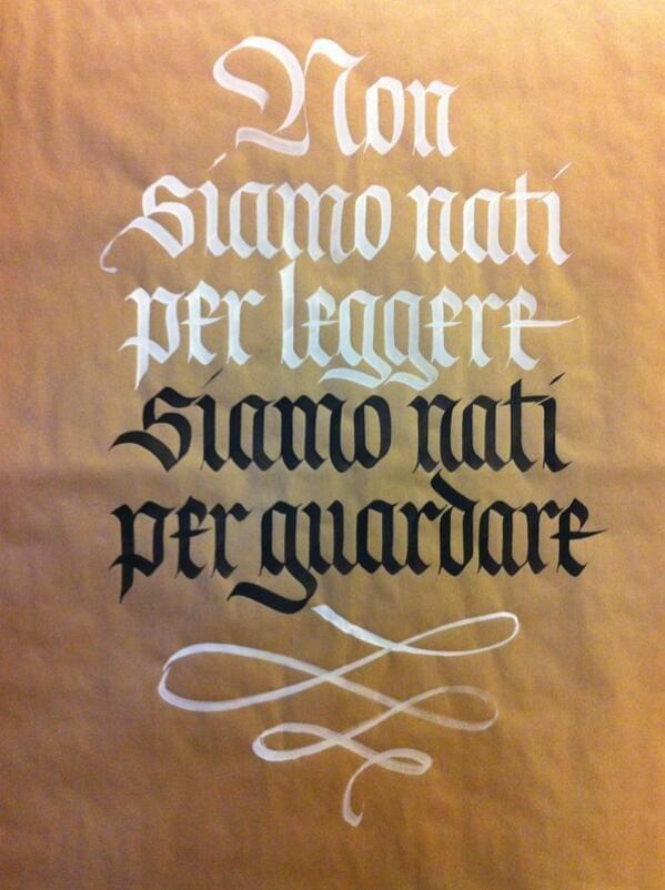 Gothic Script by Monica Dengo