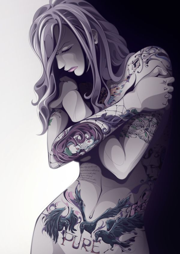 I love this.  Pure Tattoo! by Man-Tsun