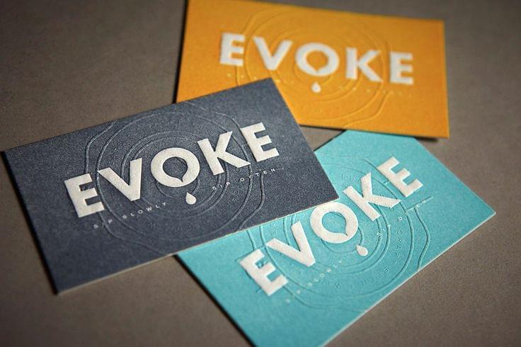 Evoke Business Card