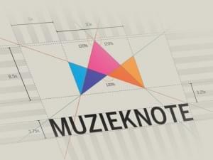 Muzieknote Logo by Jurgen Ploeger | Logo