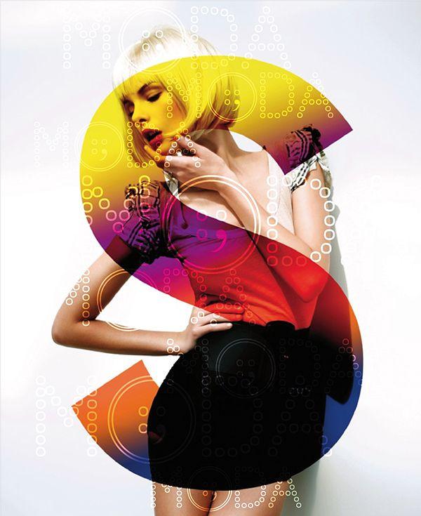 Poster MODA by elisabetta musci – Typography