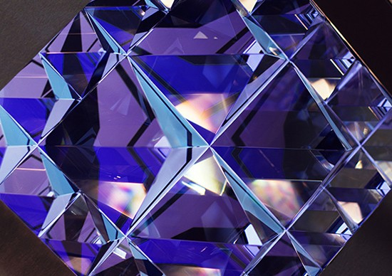Prismatica: Geometric Crystal Animation by Kit Webster