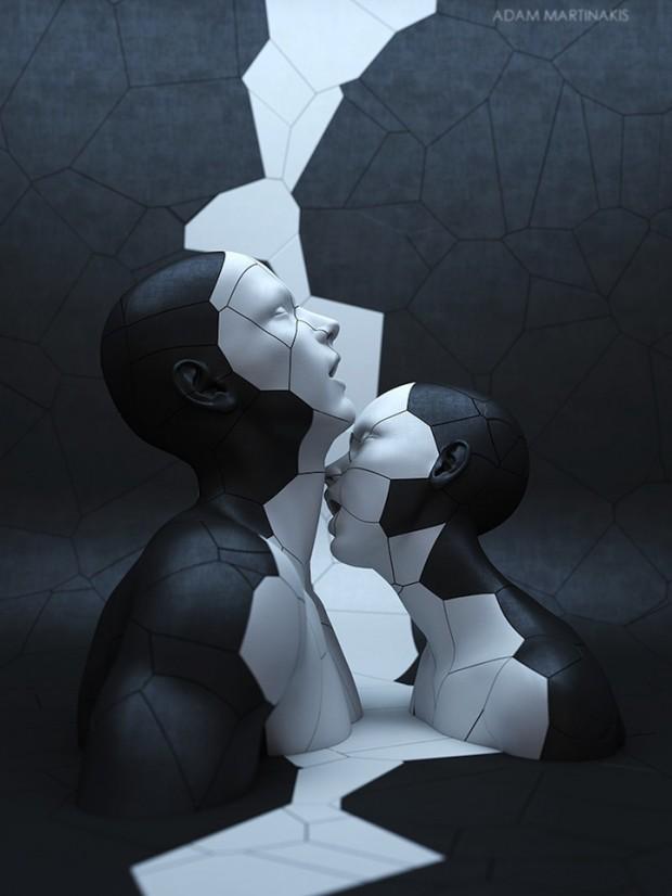 Sculptures numériques par Adam Martinakis – Journal du Design