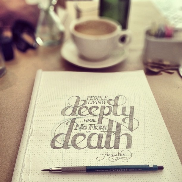 Typography by Cody Saga