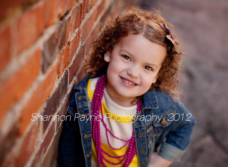 Shannon Payne Photography: Sidney's 4 Year Old Session