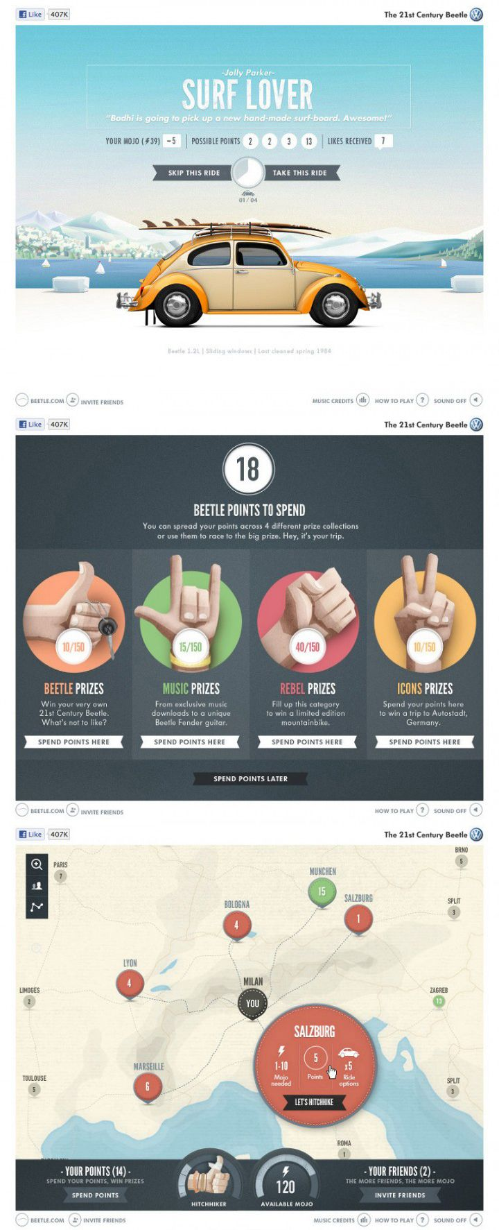Surf Lover – Web product