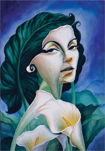Woman of substance – Octavio Ocampo