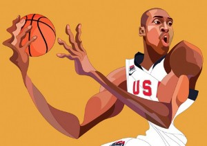 World Basketball Festival: Illustrations by Saiman Chow