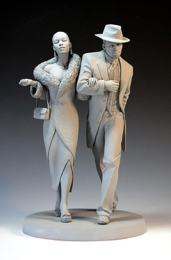 Sculpture work by Mark Newman
