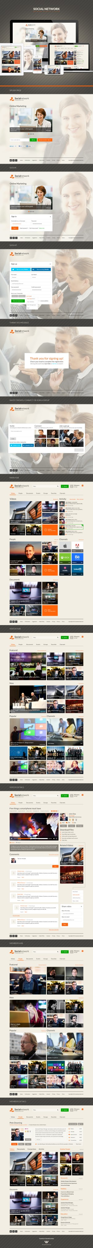 Metro Style – Complete Social Network Website