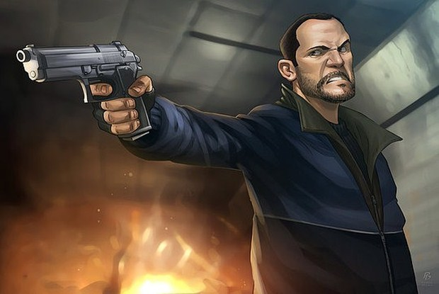 Niko Bellic – Digital Art