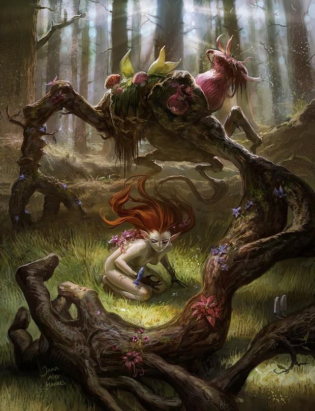 Illustration Art – Team chow with jana and alex 7